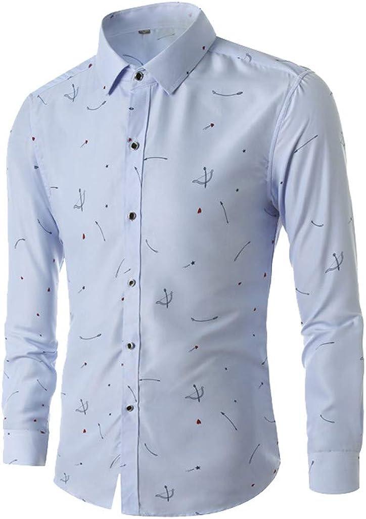 Lapel Short Sleeve Top Smorran Mens Cupid Arrow Business Shirt Breathable