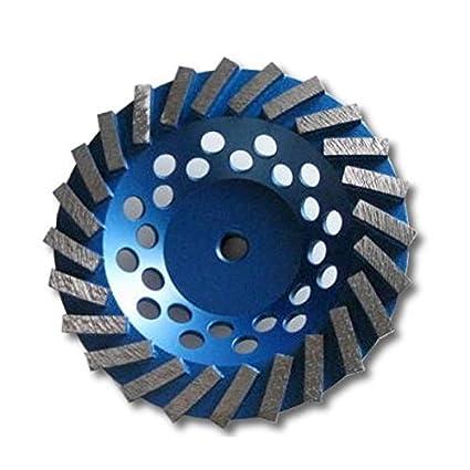 "Kent Premium 7 ""grano 30 ~ 40 espiral Turbo Copa Diamante muela, 5"