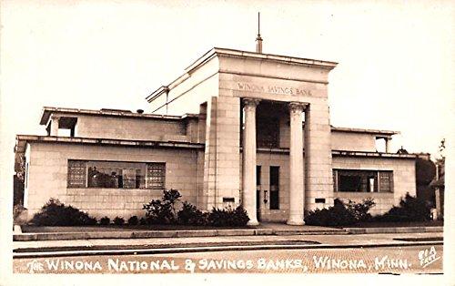 Winona National and Savings Banks Winona, Minnesota postcard