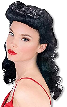 Burlesque Beauty Wig Black (peluca)