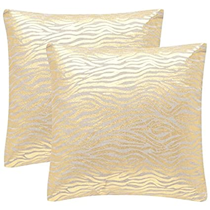Exceptionnel Safavieh Demi Gold Throw Pillows (Set Of 2), 22u0026quot; ...