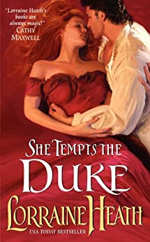 She Tempts the Duke (Lost Lords of Pembrooke Book 1) by [Heath, Lorraine]