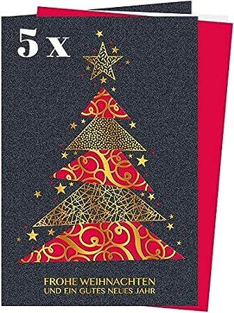 Weihnachtskarten Exklusiv.Edles Laser Kunst Weihnachtskarten Set 5 St Filigrane Laser Klappkarten Inkl Einlegeblatt Umschlag Sehr Hochwertige Elegante Und Exklusive