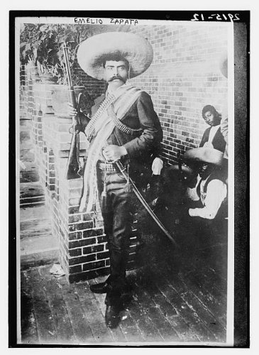 Photo: Emelio Zapata,Emiliano Zapata Salazar,1879-1919,leader of Mexican Revolution B06XMZ4LX6