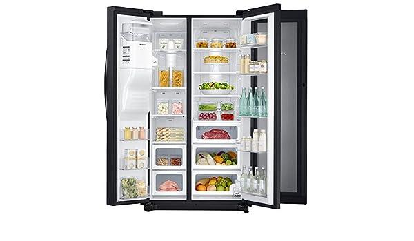 Amazoncom Samsung Side By Side Food Showcase Refrigerator 247 Cu