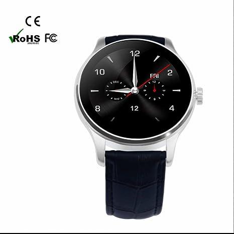 Reloj Inteligente para Hombre y Mujer,alta sensibilidad pantalla táctil,Smartwatch fácil de usar