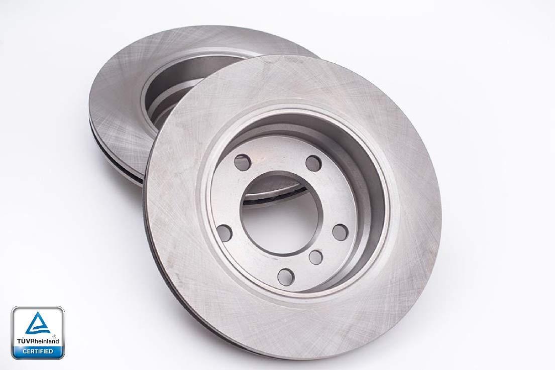 Rotori disco freno V-MAXZONE F0335 DISCHI FRENO PROFESSIONALE ROTORS ANTERIORE 284 MM
