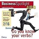 Business Spotlight Audio - Summarizing. 2/2016: Business Englisch lernen - Informationen zusammenfassen Hörbuch von div. Gesprochen von: div.