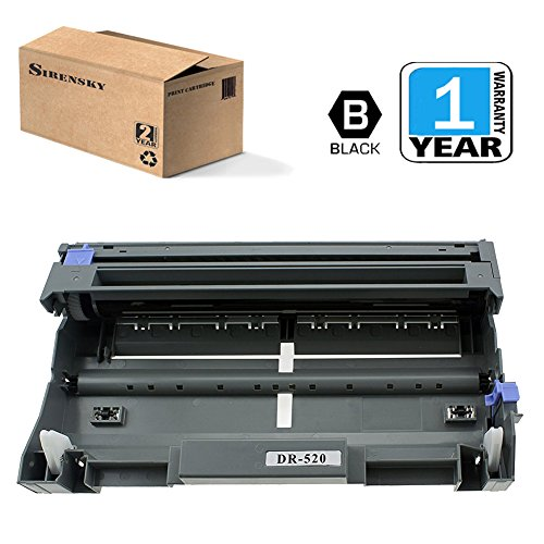 DR520 Drum Unit 1 Pack Compatible for Brother Printer HL-5240 5340 DCP-8060 MFC-8460 8480 8680 8690DW 8860 8890, Sirensky Brand Mfc Units