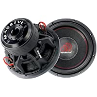 Massive Audio SUMMOXL124 3,000W Max, 12 SUMMO-Series Car Subwoofer (SUMMOXL-124)