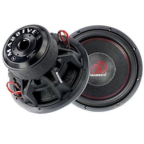 Massive Audio SUMMOXL124 - 12 Inch Car Audio 3000 Watt SU...