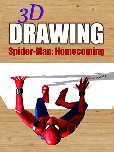 Clip  3D Drawing Spider Man  Homecoming