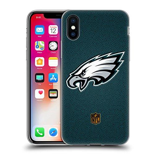 l Philadelphia Eagles Logo Soft Gel Case for Apple iPhone X ()