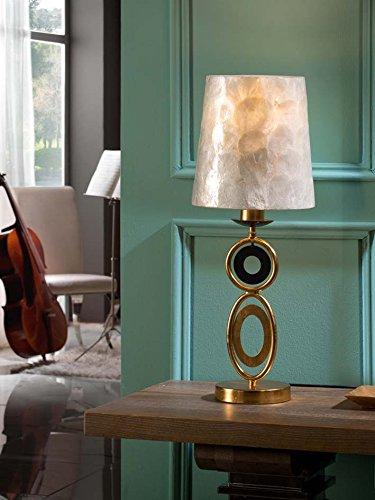 ·EDEN· GOLD TABLE LAMP, 1L. SCHULLER