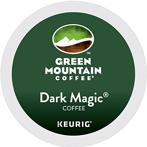 Green Mountain Coffee Roasters Dark Magic Keurig Single-Serve K-Cup Pods, Dark Roast Coffee, 12 Count, Pack of 6