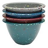 zak mixing bowl set - Zak Designs Confetti 4-piece 7 oz. Prep Bowl Set, Urban Colors