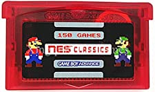 150-in-1 NES Classics Collection for GBA Nintendo Gameboy Advance multicart (Cartridge only)
