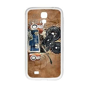 VOV Creative Loudspeaker Box Custom Protective Hard Phone Cae For Samsung Galaxy S 4