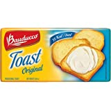 Bauducco Original Toast - 5.64 oz | Torrada Levemente Salgada Bauducco - 160g - (PACK OF 02)