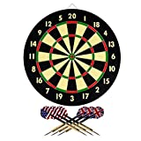 Hey! Play! 15-DG5218 TG Dart Game Set with 6 Darts and Board Dart Board