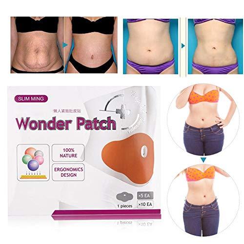 5pcs Weight Loss Patches Fettverbrennung für Magen Bauch Abnehmen Chinese Herbal Navel Stickers