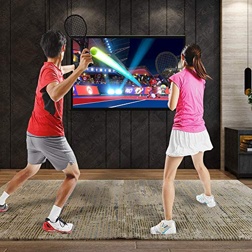 Amazon.com: Tennis Racket for Nintendo Switch Twin Pack Tennis Racket for N-Switch Joy-Con Controllers for Mario Tennis Aces Game: Beauty