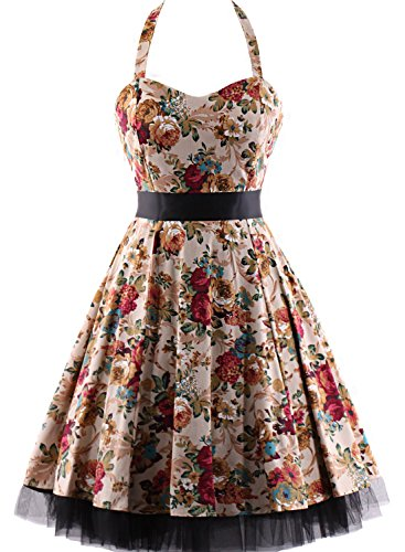 OTEN-Womens-Vintage-Polka-Dot-Halter-Dress-1950s-Floral-Sping-Retro-Rockabilly-Cocktail-Swing-Tea-Dresses