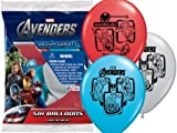 Avengers Marvel Comics Party Supplies Colored Helium Balloons 12″ 6ct, Health Care Stuffs
