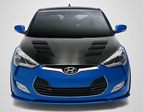 Carbon Creations ED-ZWG-635 DriTech AM-S Hood - 1 Piece Body Kit - Fits Hyundai Veloster -