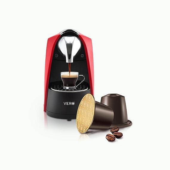 VERO | Infuso (Red) | Coffee Machine | Nespresso Compatible Espresso Machines at amazon