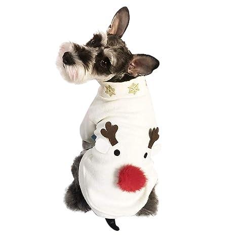 Handfly Mascotas Perro Gato Trajes de Navidad Traje Perro ...