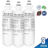 LG Lt700p Water Filter Compatible With Kenmore 46-9690,LG Replacement Cartridge Adq36006101,Adq36006101-S and Lt700pc Lg Refrigerator Water Filter (3 Pack)