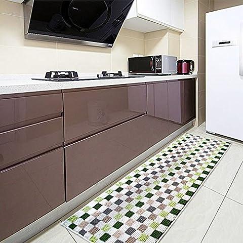 Easychan Carpet Rubber Backing Non-Slip Kitchen Rugs Mat Doormat Area Rugs (17