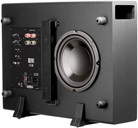 OSD Audio 200W Home Theater Powered Subwoofer 8 Woofer, Low Profile – SS-8