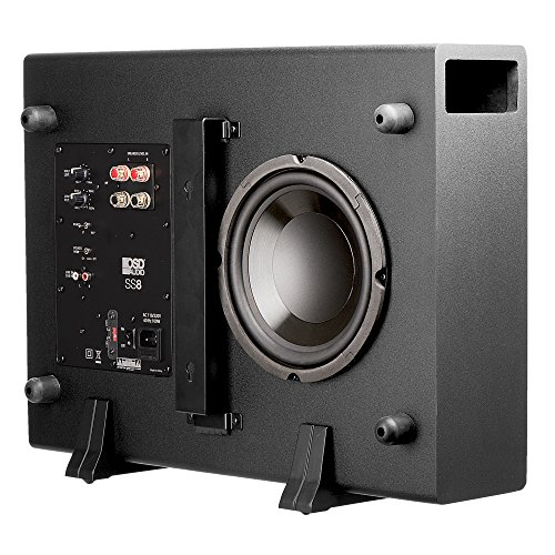 """OSD Audio 200W Home Theater Powered Subwoofer - 8"""" Woofer, Low Profile - SS-8"""