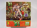 Planet 51 100 Piece Jigsaw Puzzle: Captain Chuck T Baker