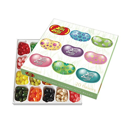 Jelly Belly Spring Gift Box with 20-Flavor, 8.5 Ounce