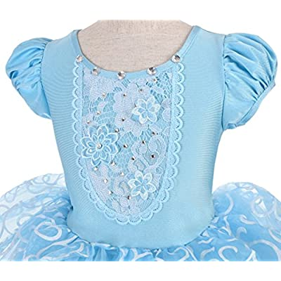 Dressy Daisy Girls Princess Costumes Halloween Party Princess Dress Up: Clothing