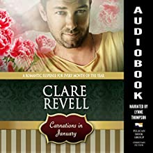 Carnations in January Audiobook by Clare Revell Narrated by Lynne Thompson