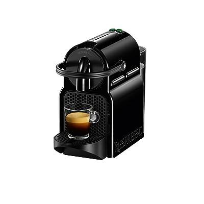 Cafetière Nespresso Inissia D40 (indépendant Noir Espresso machine Capsules de Café Espresso Lungo 0,7L)