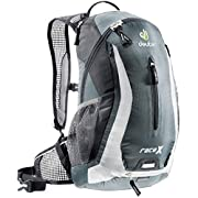 Deuter Granite/White (32123 41110) Race X Backpack-Perfect for Hiking, Biking, Hunting, Offroad and Motorcycling