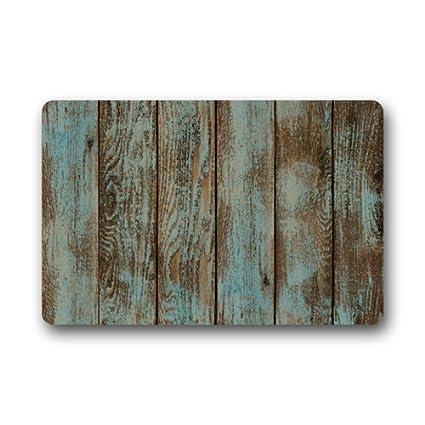 Etonnant Popular Rustic Old Barn Wood Art Doormat Door Mat Rug Indoor/Outdoor/Floor  Mat