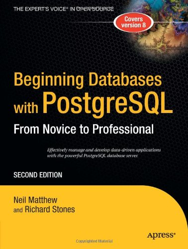 Beginning Databases with PostgreSQL