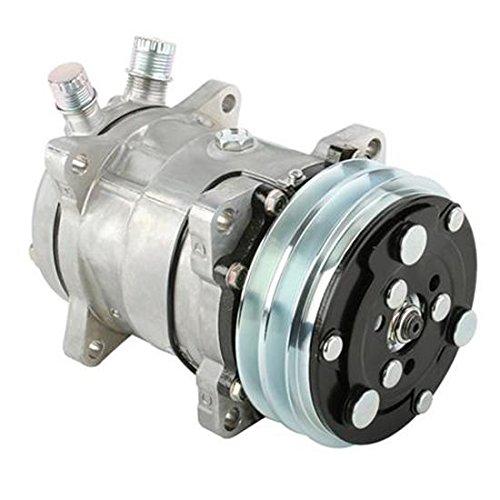 Sanden 508 V-Belt A/C Compressor, Plain