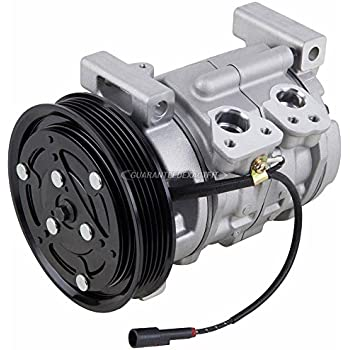 AC Compressor & A/C Clutch For Chevy Tracker & Suzuki Vitara 1999-2003 - BuyAutoParts 60-00808NA NEW