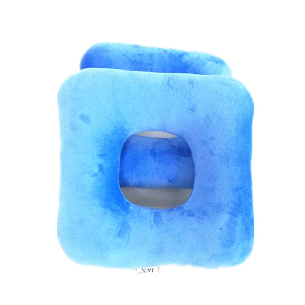 UUK Anti-Decubitus Pad, Hemorrhoids Pad, Padded Lint, Wheelchair, Tailbone Pain, Comfort, Breathability, Square (Blue)