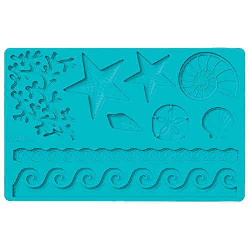 - Wilton Silicone Sea Life Fondant and Gum Paste Mold - Cake Decorating Supplies