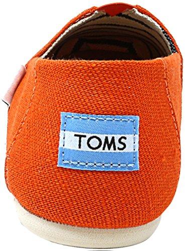 Hombre Tangerine Alpargatas Toms Classics 1001A07 aS66qwzH