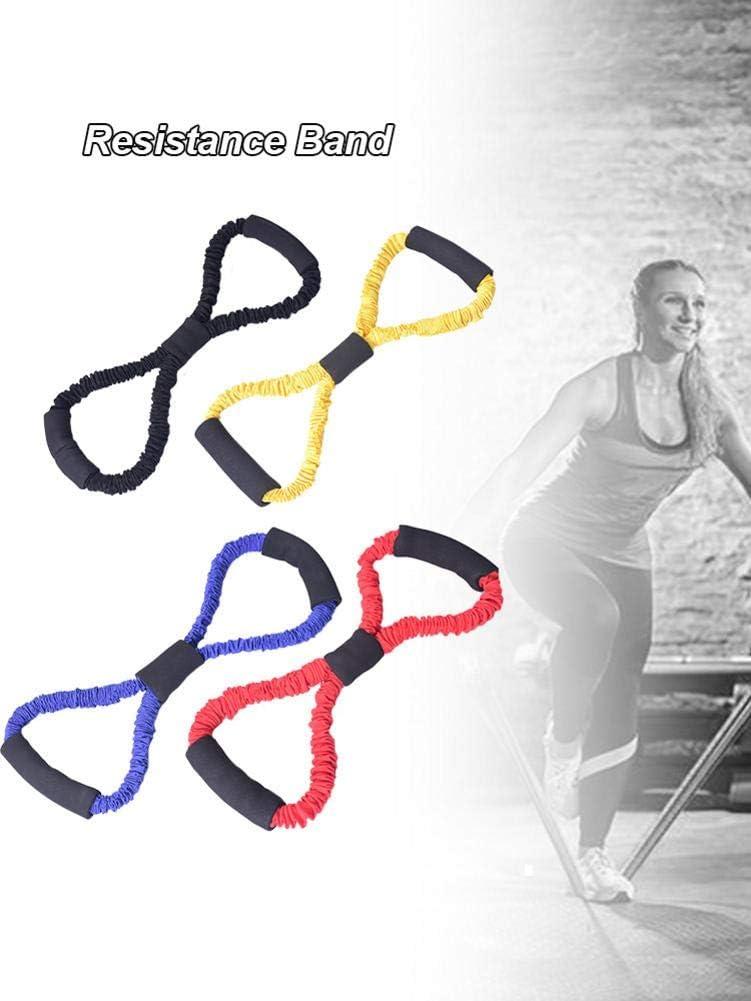Lifesongs Sports Deuser Expander,Yoga-Widerstandsb/änder Brust-Expander Muscle Exerciser 8-f/örmiger Spanner F/ür M/änner Frauen Brustvergr/ö/ßerungs/übung Heim/übung 20-80LB