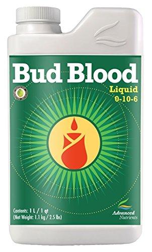 Big Bud Powder (Advanced Nutrients Bud Blood Liquid Fertilizer, 1-Liter)